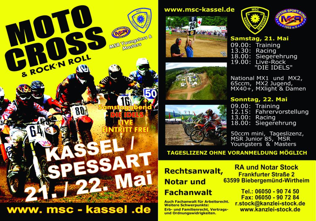 Flyer MSC Kassel/Spessart