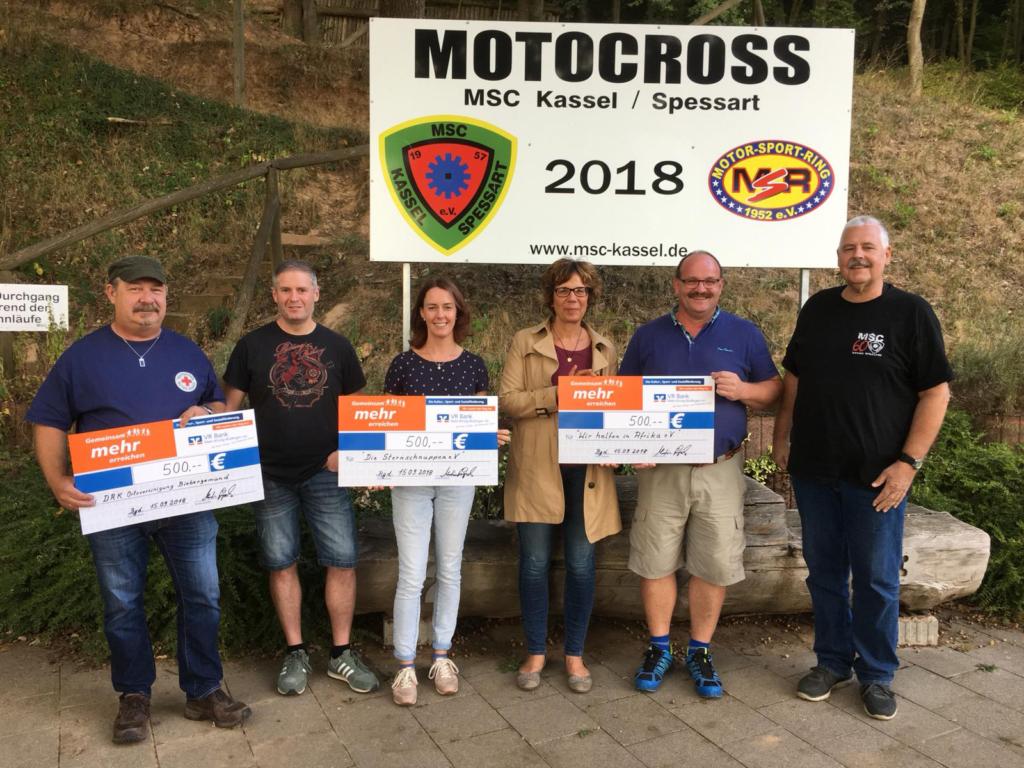 Motocross für den guten Zweck